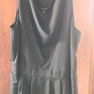 Lands End plus  size black dress